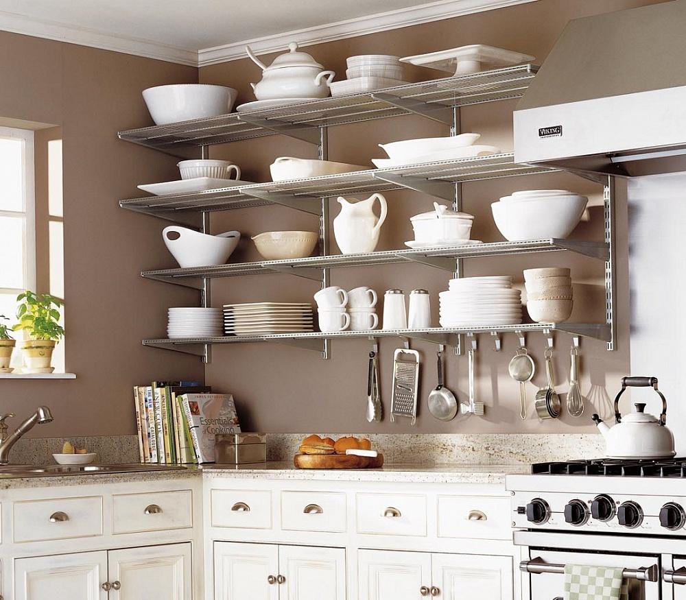 kitchen wall shelves - 551×551